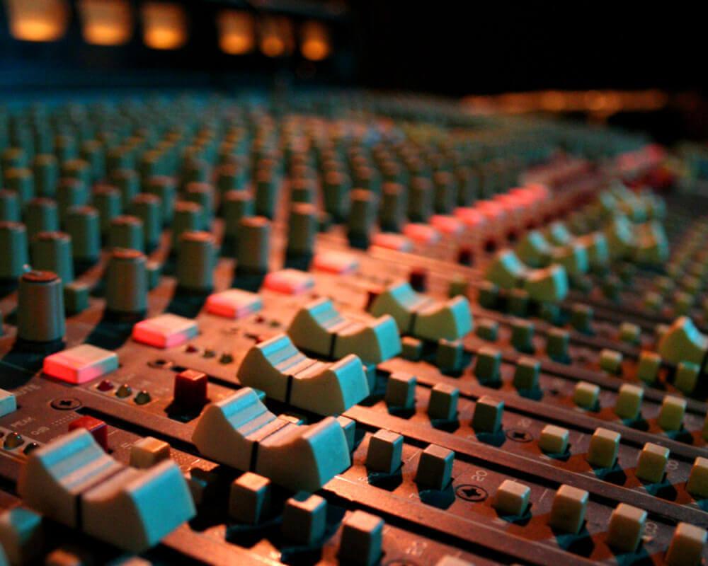 Mezcladora de Audio Profesional
